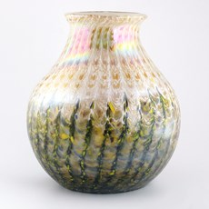 Monet Vase Golden Rain