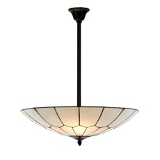 French Art Deco Tiffany Lampe Suspendue Gatsby