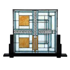 Frank Lloyd Wright Tiffany Panneau