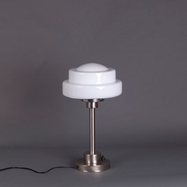 Lampe de Table Semi-Round Stepped Globe