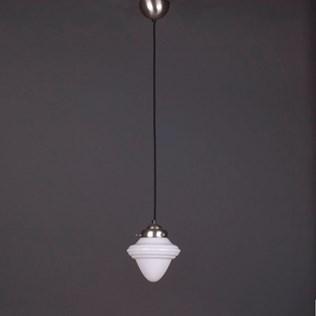voorbeeld van een van onze Lampes Suspendues au Cordon en Lin Vintage