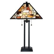 Tiffany Lampe de Table Fallingwater