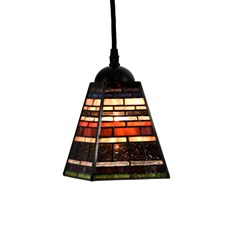 Tiffany Lampe Suspendue Industrial small