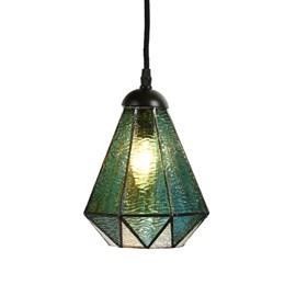 Tiffany Lampe Suspendue Arata Green