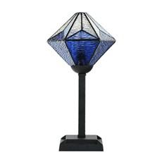 Tiffany Lampe de Table Akira Blue