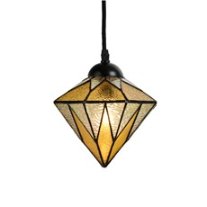Tiffany Lampe Suspendue Aiko Yellow