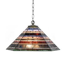 Tiffany Lampe Suspendue Industrial large