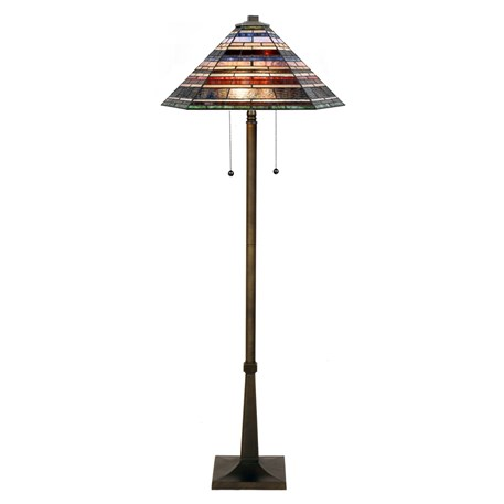 Tiffany Lampadaire Industrial large