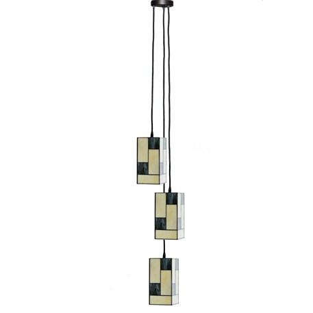 Tiffany Lustre Mondriaan Small Square 3
