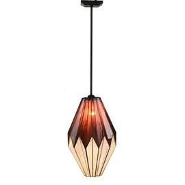 Tiffany Lampe de Plafond Origami