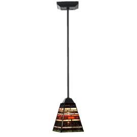 Tiffany Lampe de Plafond Industrial small pendel