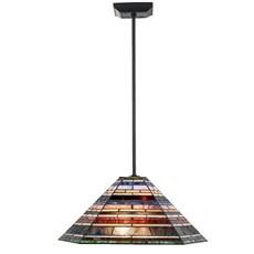 Tiffany Lampe de Plafond Industrial large pendant