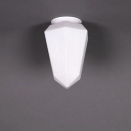 Abat-jour en verre Brillant Mat Opale