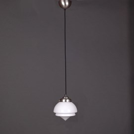 Lampe Suspendue au Cordon de Lin Vintage Small Pointy