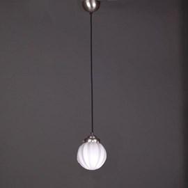 Lampe Suspendue au Cordon de Lin Vintage Carambola