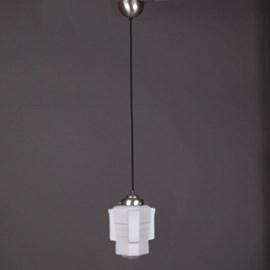 Lampe Suspendue au Cordon de Lin Vintage Apollo