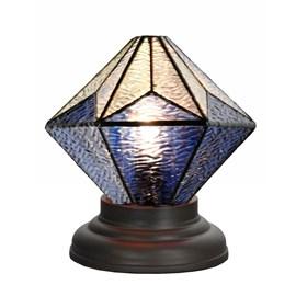 Lampe de Table basse Tiffany Akira Blue