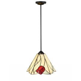 Lampe Suspendue Tiffany Tulip pendant