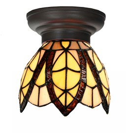 Petite Lampe de plafond Tiffany Flow Souplesse small