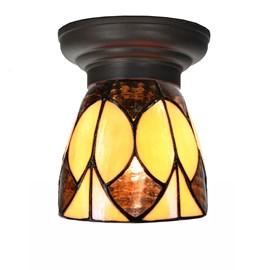 Petite Lampe de plafond Tiffany Parabola small